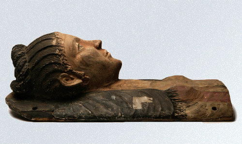 Image of an Egyptian sarcophagus